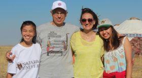 Қазақ айтысын зерттеген америкалық ғалым Назарбаев университетінде дәріс оқиды