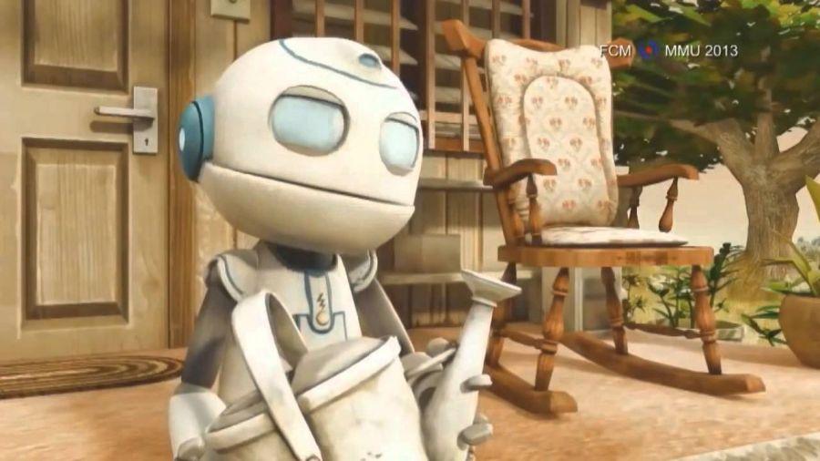 Робот қожайынымен о дүниеде кездесті (видео)