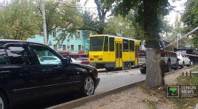Алматыда 17 көлікті соққан трамвайға қатысты жаңа деректер пайда болды