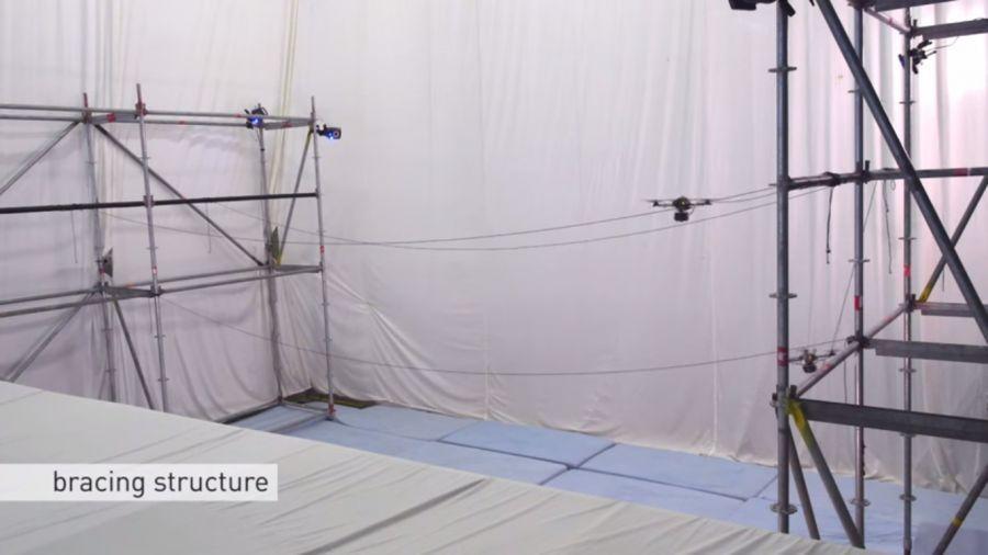Швейцариялықтар дрондарға көпір салуды үйретті