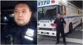 АҚШ-та полицей болып істейтін қазақ жігіті ерлік жасады
