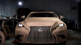 Lexus инженерлері қағаздан электромобиль құрастырды (видео)