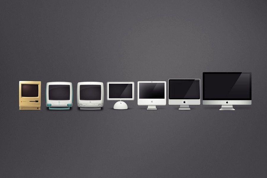 Apple компьютері 17 жылда қалай өзгерді?