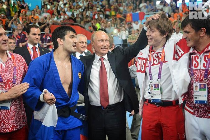 Ресей президентінің Олимпиада чемпиондарына құрметі