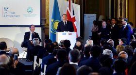 Назарбаев Ұлыбритания компанияларына Қазақстанға келіп ақша табуды ұсынды
