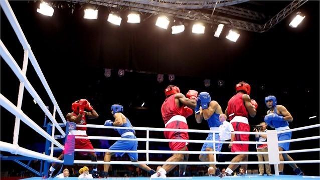 Данияр Елеусінов Иран боксшысын айқын басымдықпен жеңді