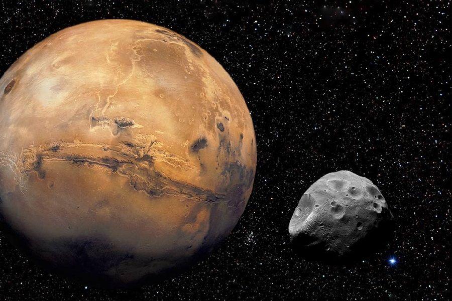 Марс гравитациясы серігін жойып жібереді