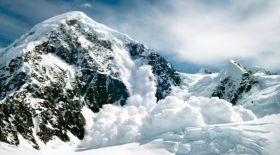 Алматы тауларында екі бірдей қар көшкіні болды