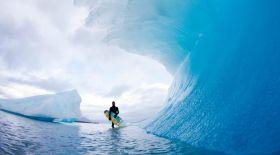 Арктикадағы серфинг (видео)