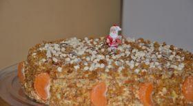Мәзір: Мандариннен жасалған торт