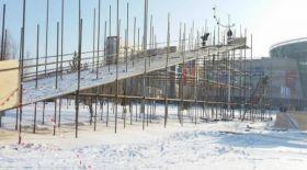 Астанада Қазақстандағы ең үлкен сырғанақтың құрылысы басталды