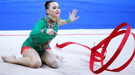 Анна Алябьева бірінші жаттығудың қорытындысы бойынша 11-орында