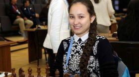 Бүгін жас гроссмейстер Жансая Әбдімәлік 16 жасқа толды