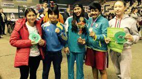 Қазақстандық боксшы қыздар халықаралық турнирден олжалы оралды