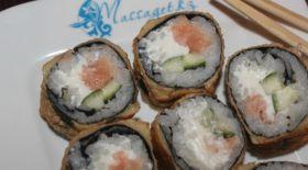 Массагеттен мәзір: Ыстық суши