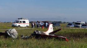 Ресейде Ан-2 ұшағы құлап, үш адам мерт болған