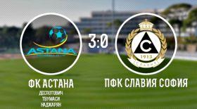 «Астана» жолдастық кездесуде болгар клубын ірі есеппен ұтты