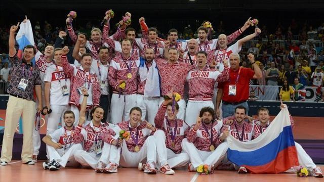 Ресей волейболшылары - Олимпиада чемпионы