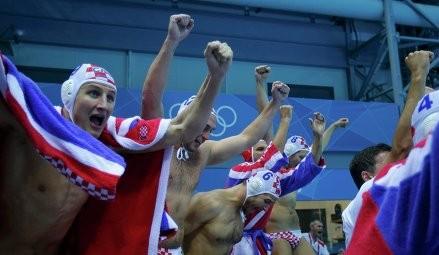 Хорватия ватерполшыларының Олимпиада ойындарындағы тұңғыш алтыны