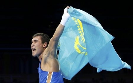 Лондон Олимпиадасының Чемпионы Серік Сәпиевке Вэл Баркер кубогы берілді