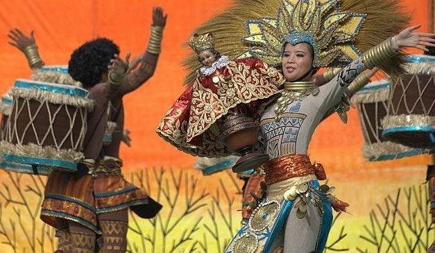 Филиппин еліндегі Синулог фестивалі