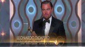 Леонардо Ди Каприо  «Оскар» сыйлығын алды (видео)