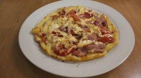 Табада дайындалатын пицца