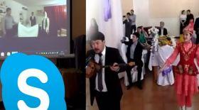 Skype арқылы өткен беташар жұртты таңғалдырды