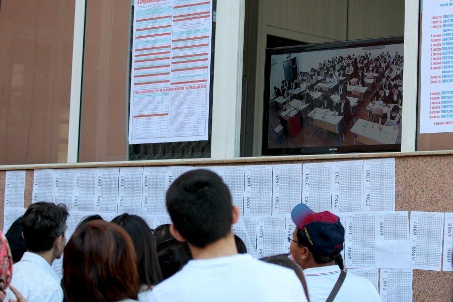 ҰБТ-ның бірінші күнінде 3 оқушы 125 балл алды