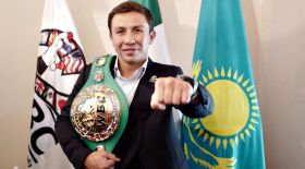 Геннадий Головкинге WBC чемпиондық белбеуі табысталды