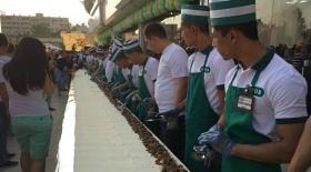 Ташкентте 15 метрлік лаваш дайындалды