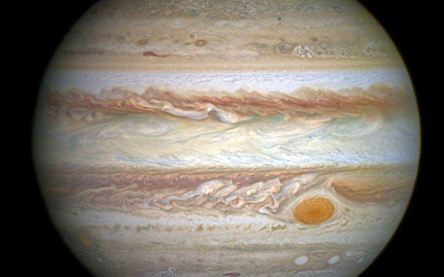 Алғаш рет Юпитердің жақыннан түсірілген суреті жарияланды