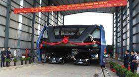 Қытайда жаңа заман автобусы таныстырылды