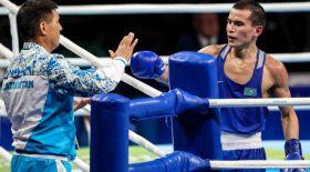 Олжас Сәттібаев әзірбайжан боксшысына есе жіберді (видео)