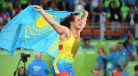 Екатерина Ларионова Олимпиаданың қола жүлдесін жеңіп алды (видео)
