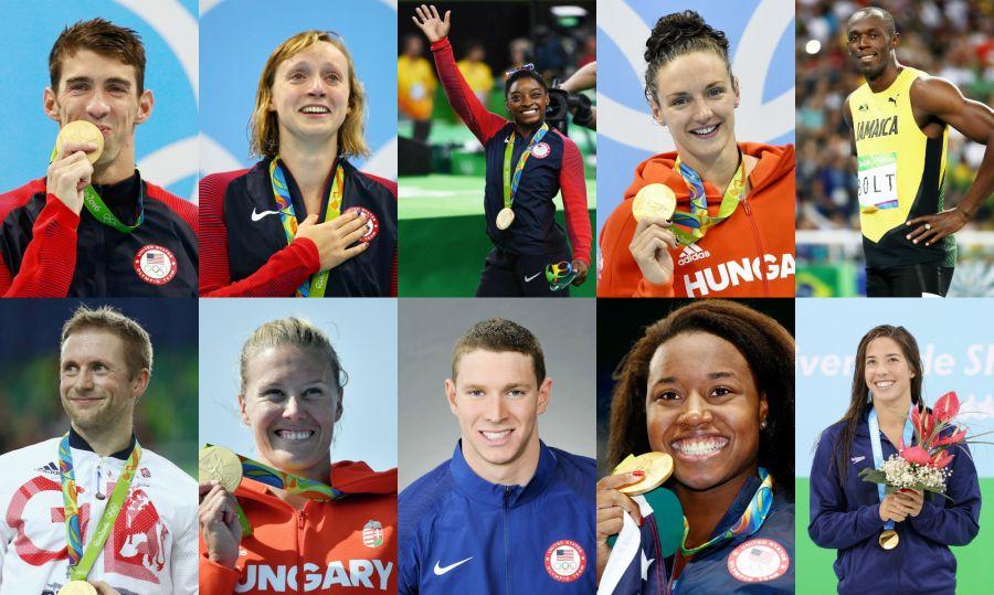 Рио Олимпиадасында ең көп жүлде алған 10 спортшы