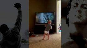 Тілі шықпаған бала спортшы болуды армандайды (видео)