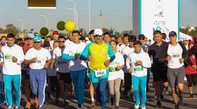 Астанадағы марафонға 4,5 мың адам қатысты