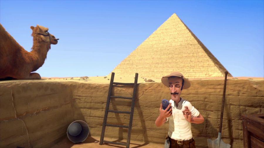 Египет пирамидасының пульті табылды (видео)
