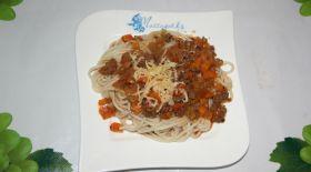 Массагеттен мәзір: Болоньезе спагеттиі