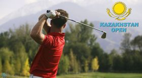 «Kazakhstan open» гольф турнирі басталды (видео)