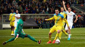 «Астана» топтық кезеңдегі алғашқы ұпайын алды
