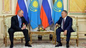 Нұрсұлтан Назарбаев Ресей Федерациясының президентімен кездесті