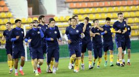 Футболдан Англия жастары Ақтөбеде Қазақстан (U-21) құрамасын ұтты