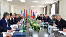 Сыртқы істер министрлері кеңесі, Қорғаныс министрлері кеңесі мен ҰҚШҰ Қауіпсіздік кеңесі хатшылары комитетінің бірлескен отырысы өтті