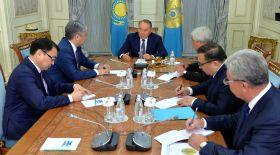 Назарбаев Қырғызстанның Сыртқы істер министрі Эрлан Абдылдаевпен кездесті