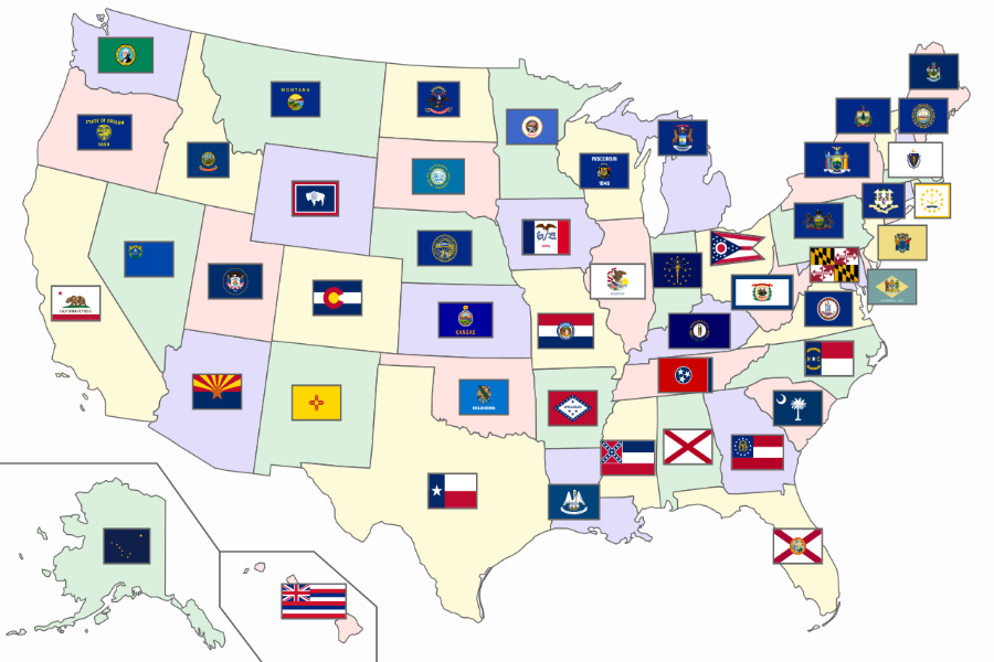 Америка штаттарының атаулары