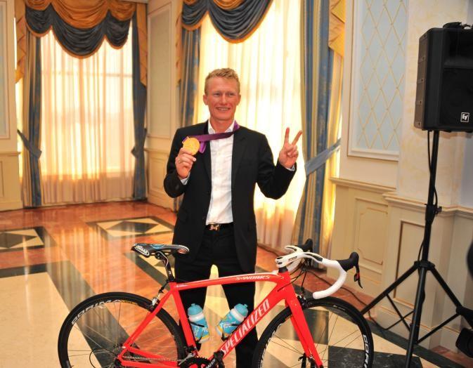 Винокуров велосипедін 243 мың долларға сатты
