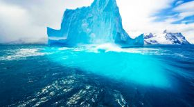Арктикалық мұз қалай еріп жатыр? (видео)