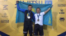 Қазақстандық спортшы джиу-житсудан әлемнің вице-чемпионы атанды